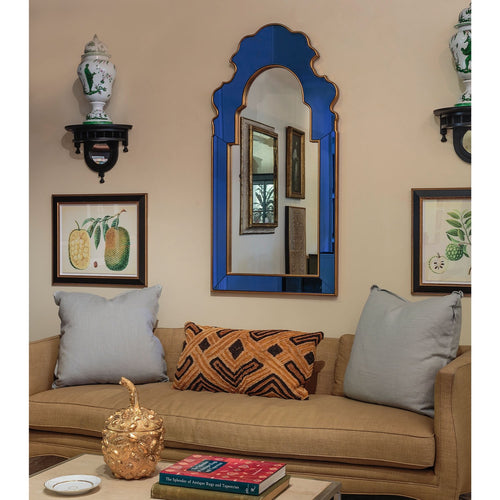 Sapphire Mirror by Bunny Williams for Mirror Image Home