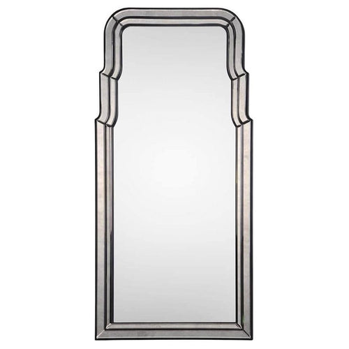 Venezia Oversize Wall Mirror by Bunny Williams, Ebony and Antiqued Mirror