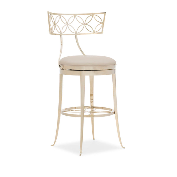 Royal Klismos Bar Stool by Caracole