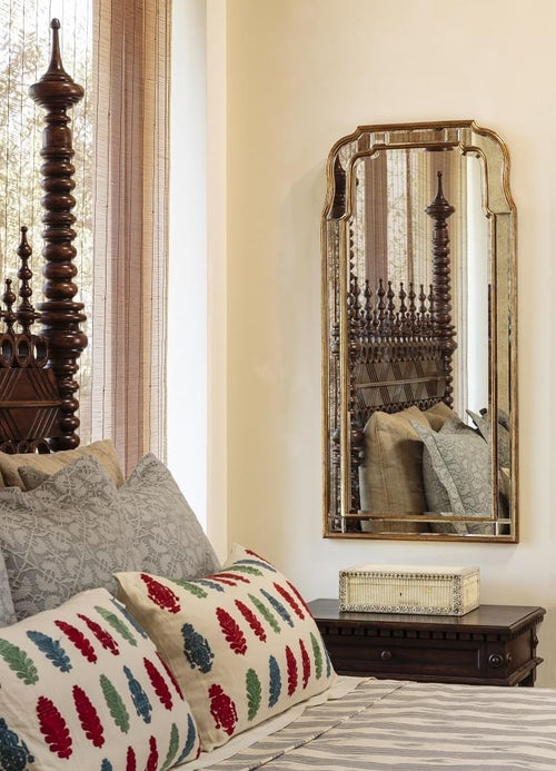 Antique Gold Leaf Full length Mirror by Michael S. Smith for Mirror Image Home