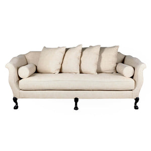 Greyson Sofa in Oatmeal Linen by Bobo Intriguing Objects