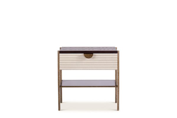 Mr Brown London Hartley Bedside Table