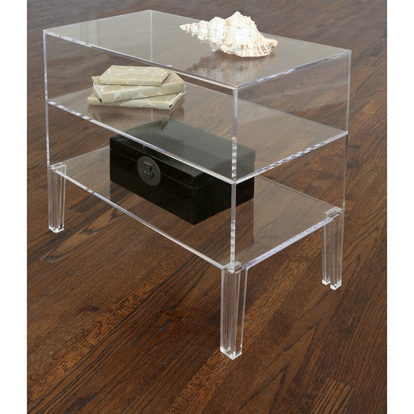 Jamie Dietrich Designs Illusion Acrylic Table