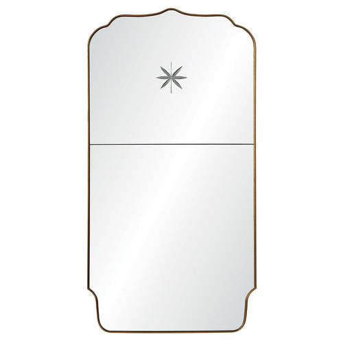 Michael S Smith Etched Star Full Length Mirror