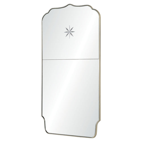 Mirror Image Home Michael S Smith Etched Star Full Length Mirror