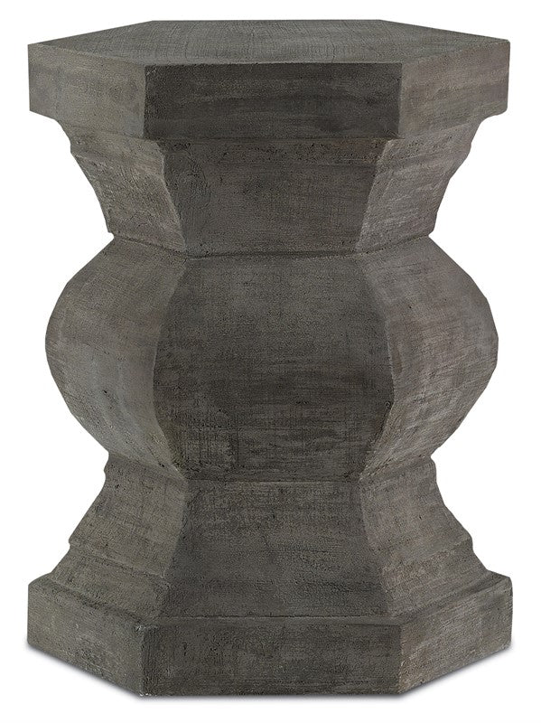 Currey and Company Pagoda Hexagonal Stool