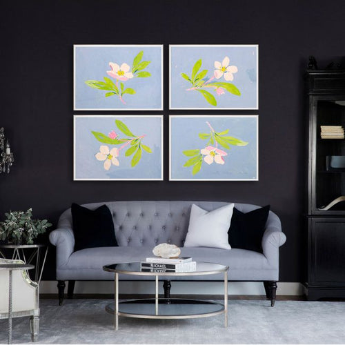 Paule Marrot Floating Flowers Wall Art