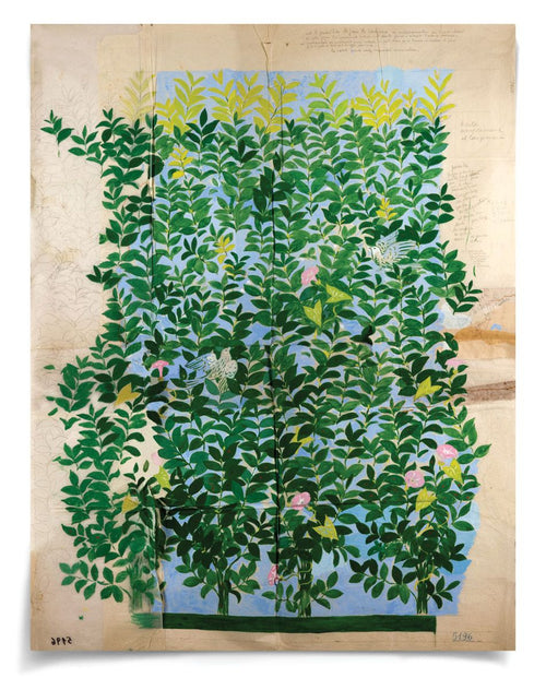 Paule Marrot Green Leaves Art by Natural Curiosities