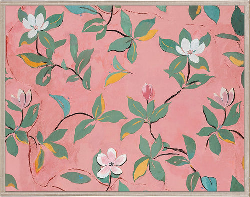 Paule Marrot Pink Magnolia Wall Art