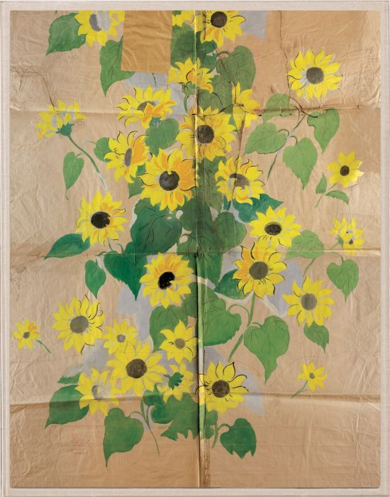 Natural Curiosities Paule Marrot Sunflowers Print