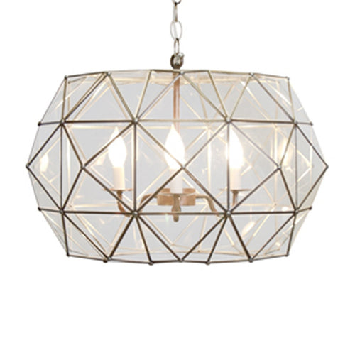 Worlds Away Rozz Pendant Chandelier