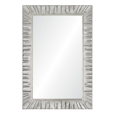 Suzanne Kasler for Mirror Image Home, Distressed Gold or Silver Leaf Wall Mirror