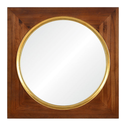 Suzanne Kasler for Mirror Image Home, Square Wood Wall Mirror