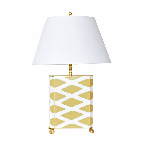 Dana Gibson Parthenon Lamp in Taupe