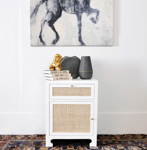 Worlds Away Ruth Side Table