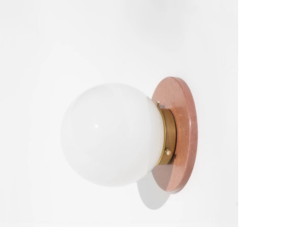 Yield Design Lunar Sconce in Rust