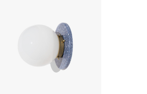 Yield Design Lunar Sconce in Blue