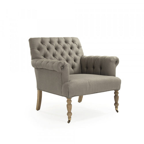 Zentique Lorraine Tufted Arm Chair