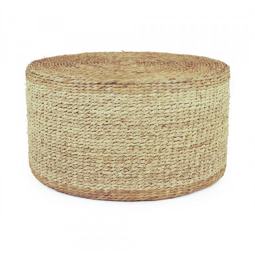 Round Woven Ottoman or Coffee Table
