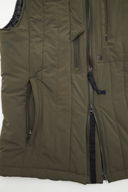 Full Zip Quilted Vest/OLIVE/BGW-V05