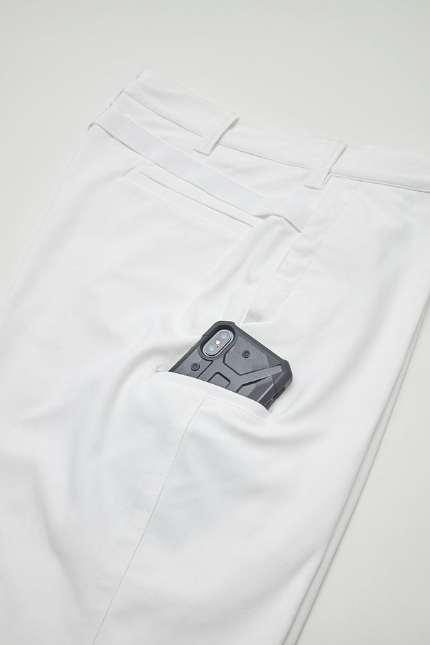 Super Stretch Course Pant/WHITE/BGW-P16