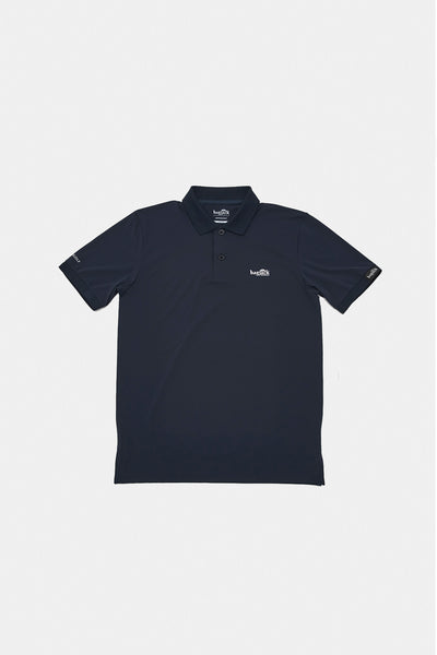 BJG x HYPEGOLF S/S Polo/NAVY/BHW-K04
