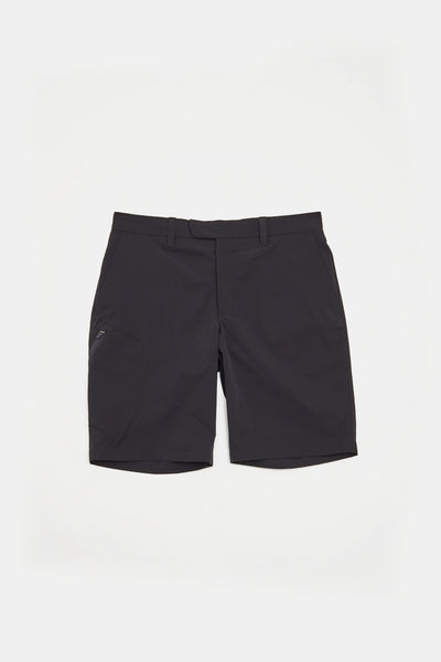 BJG Stretch Shorts w/Pkt/BLACK/BGW-P36