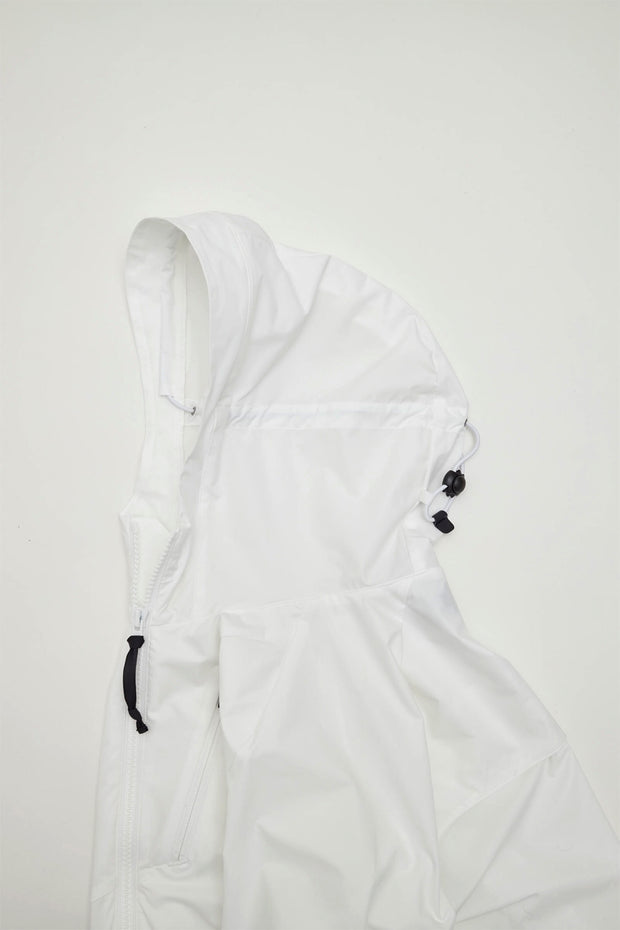 2way Stretch Hooded Jacket/WHITE/BGW-J30