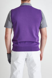 Solotex Stretch C/N Vest/PURPLE/BGW-S39