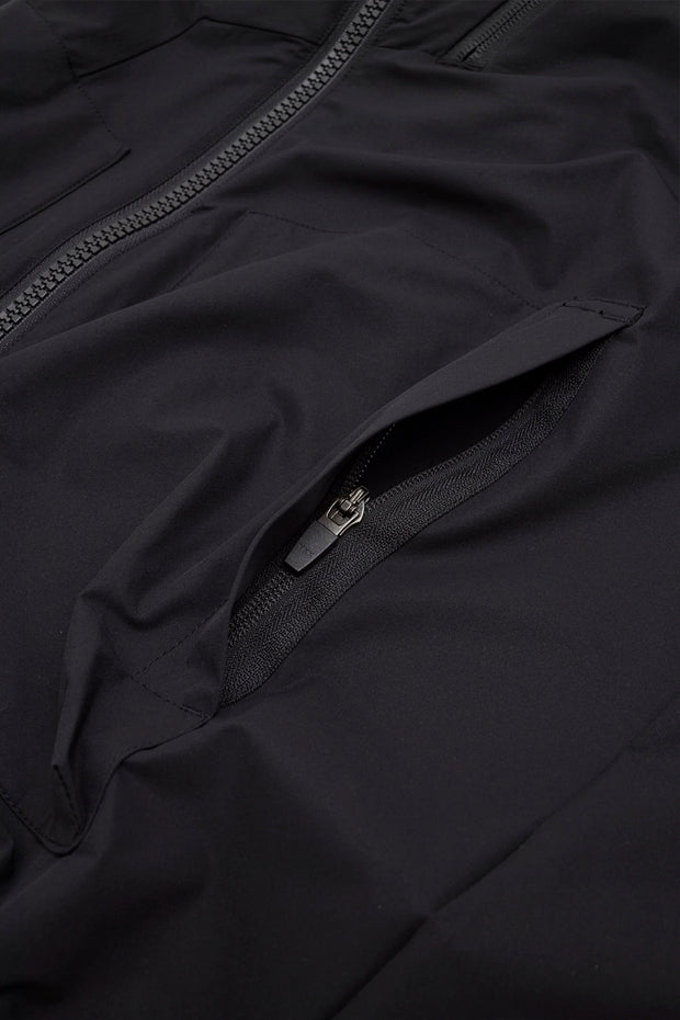 2way Stretch Hooded Jacket/BLACK/BGW-J30