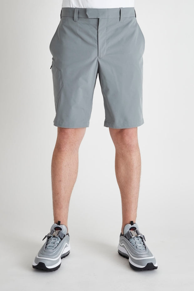BJG Stretch Shorts w/Pkt/GRAY/BGW-P36