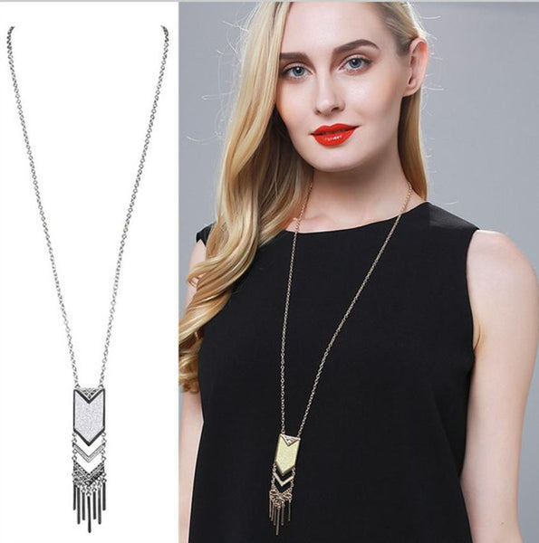 Tassel Pendant Necklace