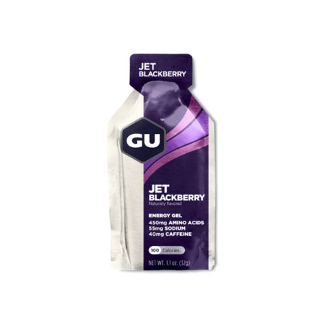 GU Energy Gels Jet Blackberry