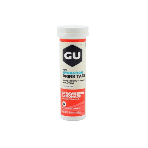GU Energy Strawberry Lemonade Drink Tabs