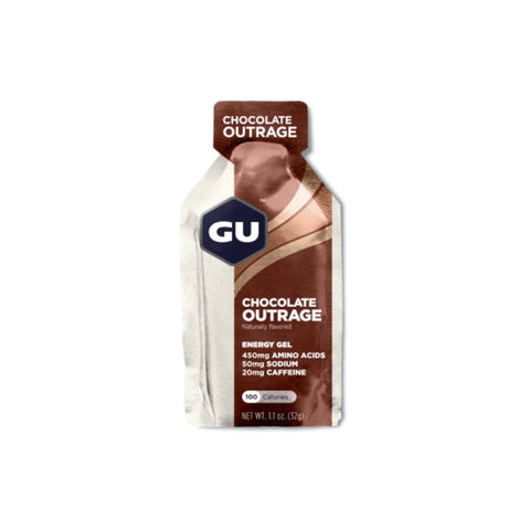Gu Energy Gels Chocolate Outrage