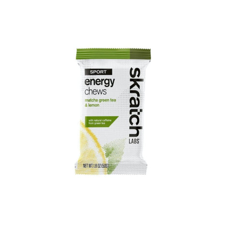Skratch Sport Chew Matcha Lemon