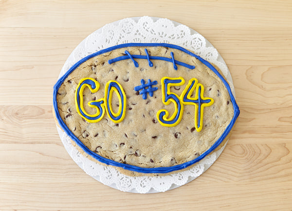 Football Cookie Cake