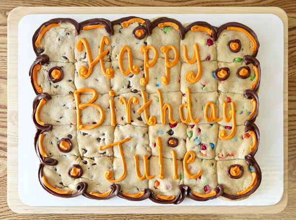 Rectangular Cookie Cake - 30 pieces