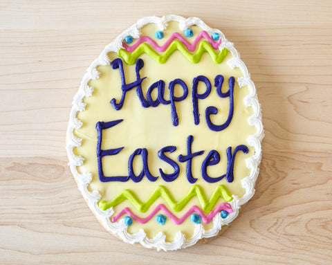 Large Easter Egg Cookie
