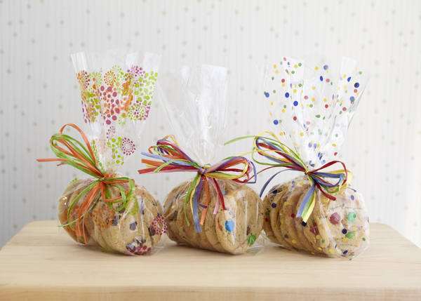 Cellophane Bag with 6 Cookies