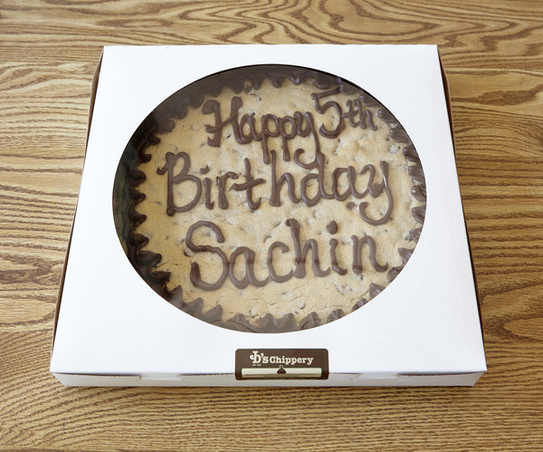 Round Cookie Cake 10-inch