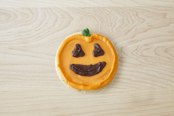 Pumpkin Cookie - Individual Size, GIFT BOXED