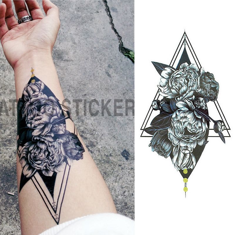 Half Arm Covering Tattoo