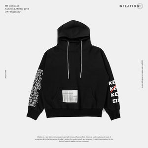 Over-sized Sleeve Hoodie