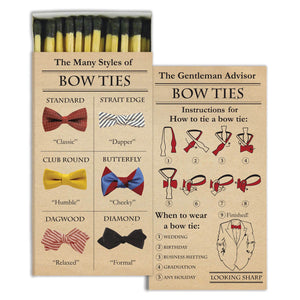 Bow ties Matches
