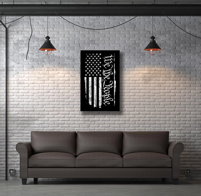 "Art Canvas - We The People 20""x31"""