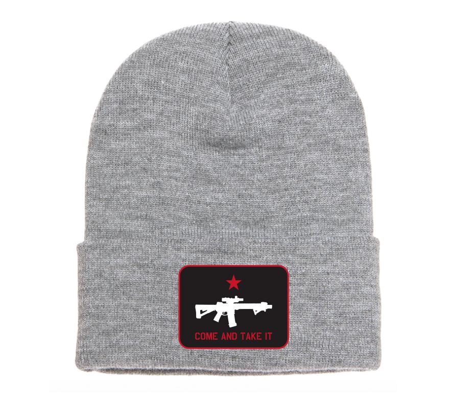 Come And Take It Beanie - Howitzer Clothing