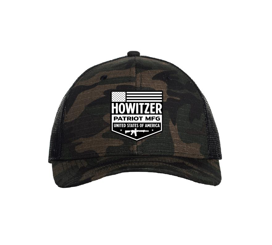 Patriot Shield Hat - Howitzer Clothing