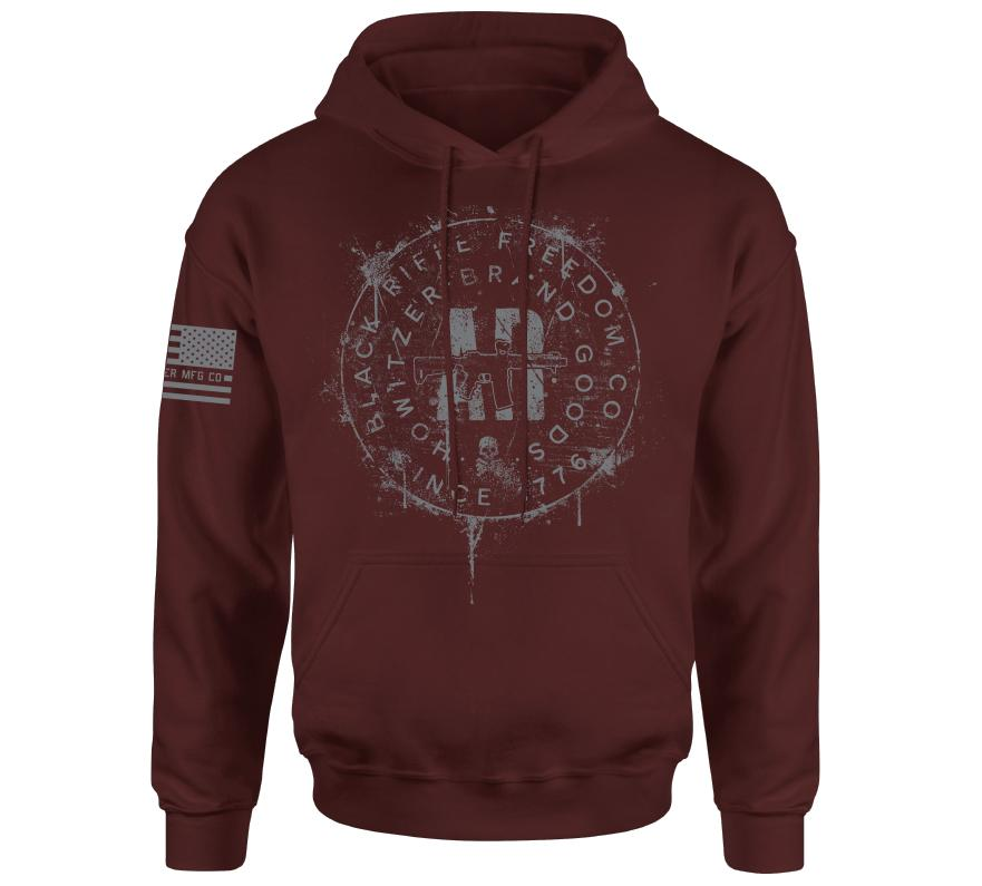 Ar Stamp Po Hood - Howitzer Clothing