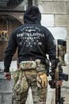 Arms Zip Hood - Howitzer Clothing
